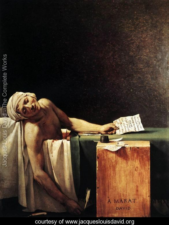 The-Death-of-Marat-1793